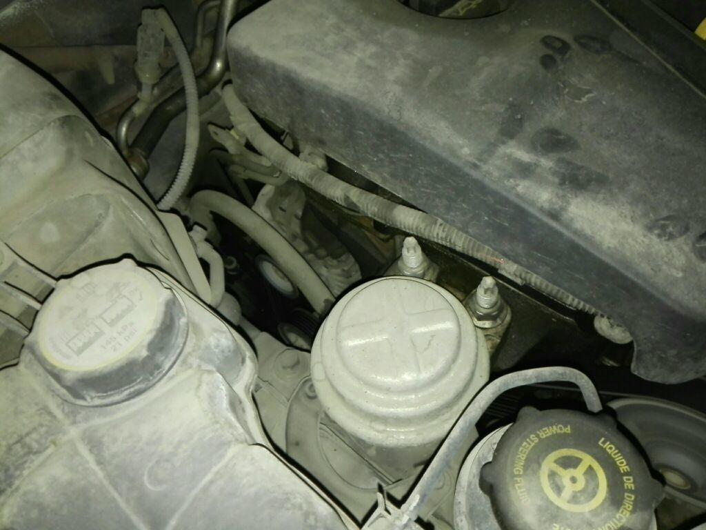 发动机油底壳(渗液)