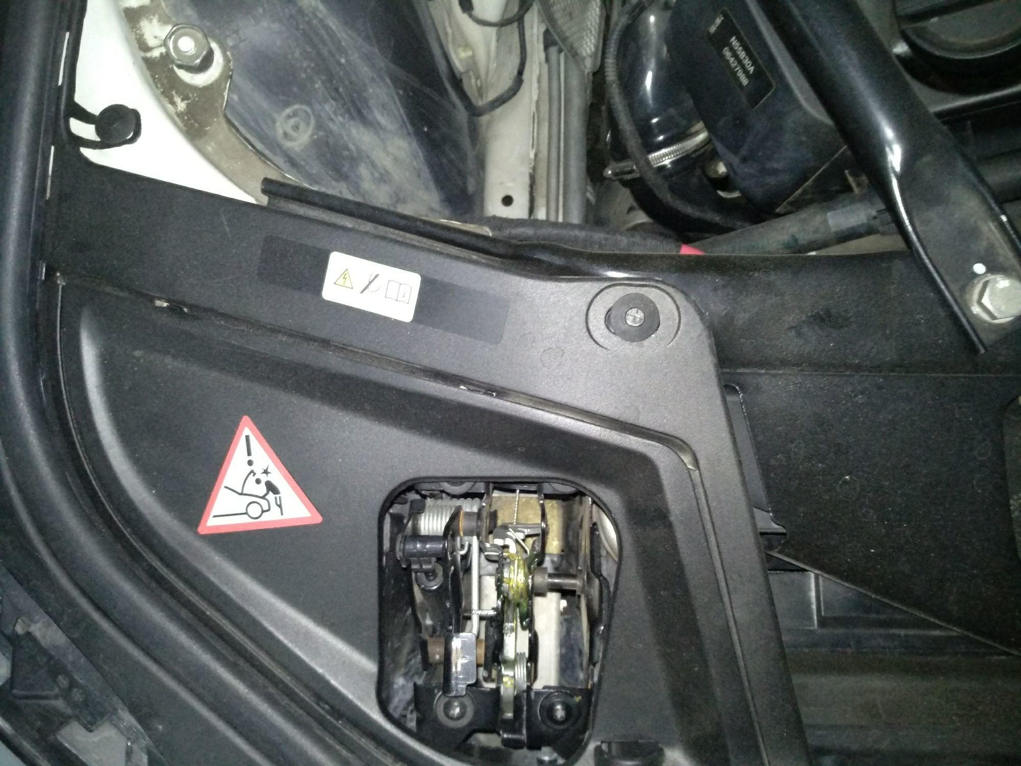 上海二手宝马宝马5系 > 宝马5系 2012  车头轻微的碰撞会导致水箱