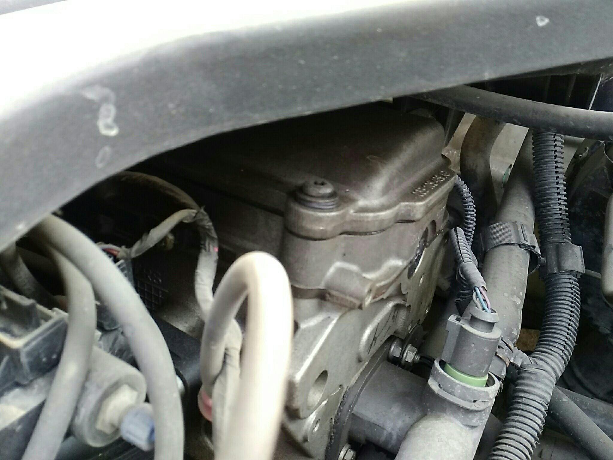 发动机外围皮带