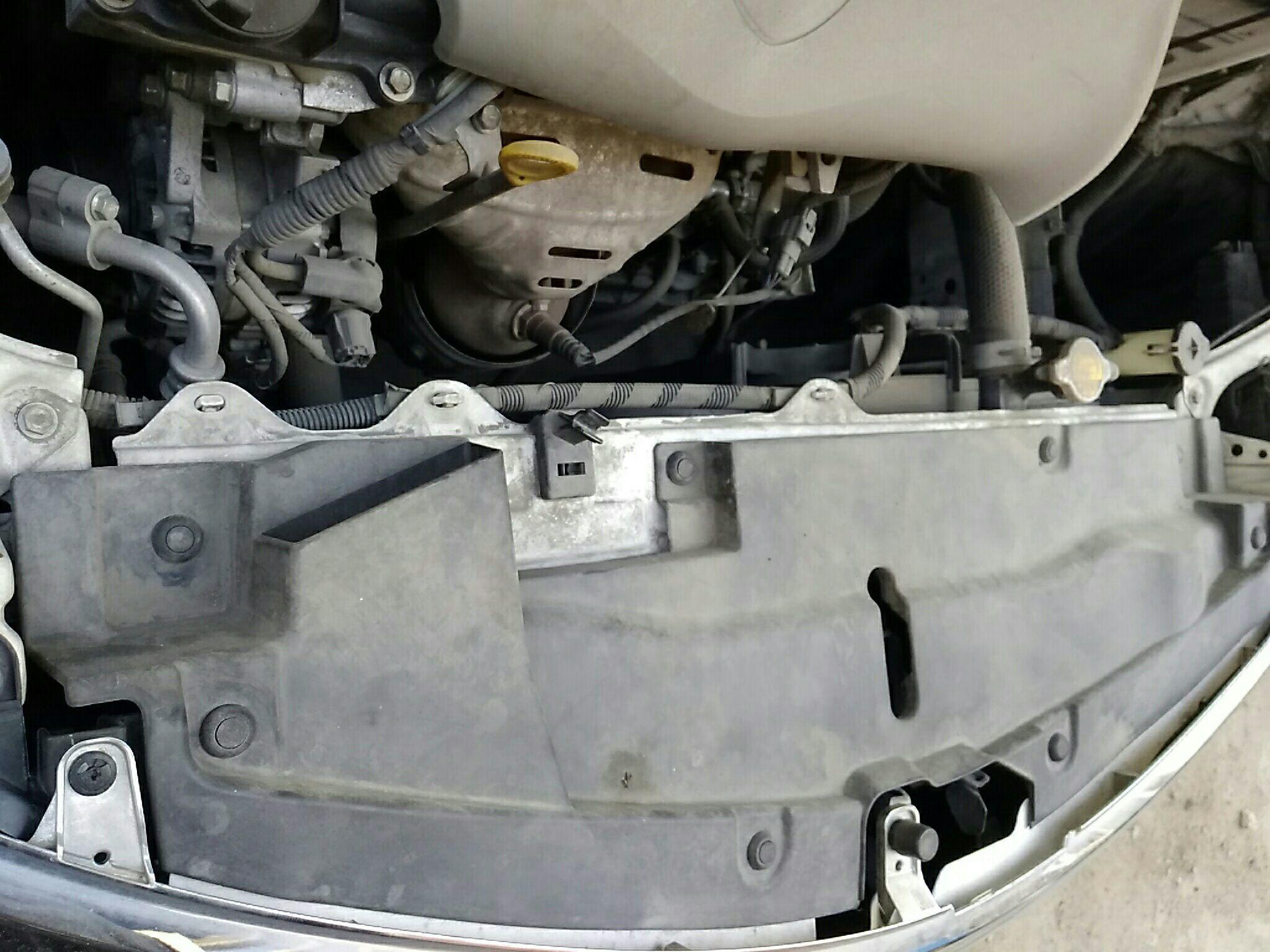 齐齐哈尔二手丰田威驰 > 丰田威驰 2014  车头轻微的碰撞会导致水箱