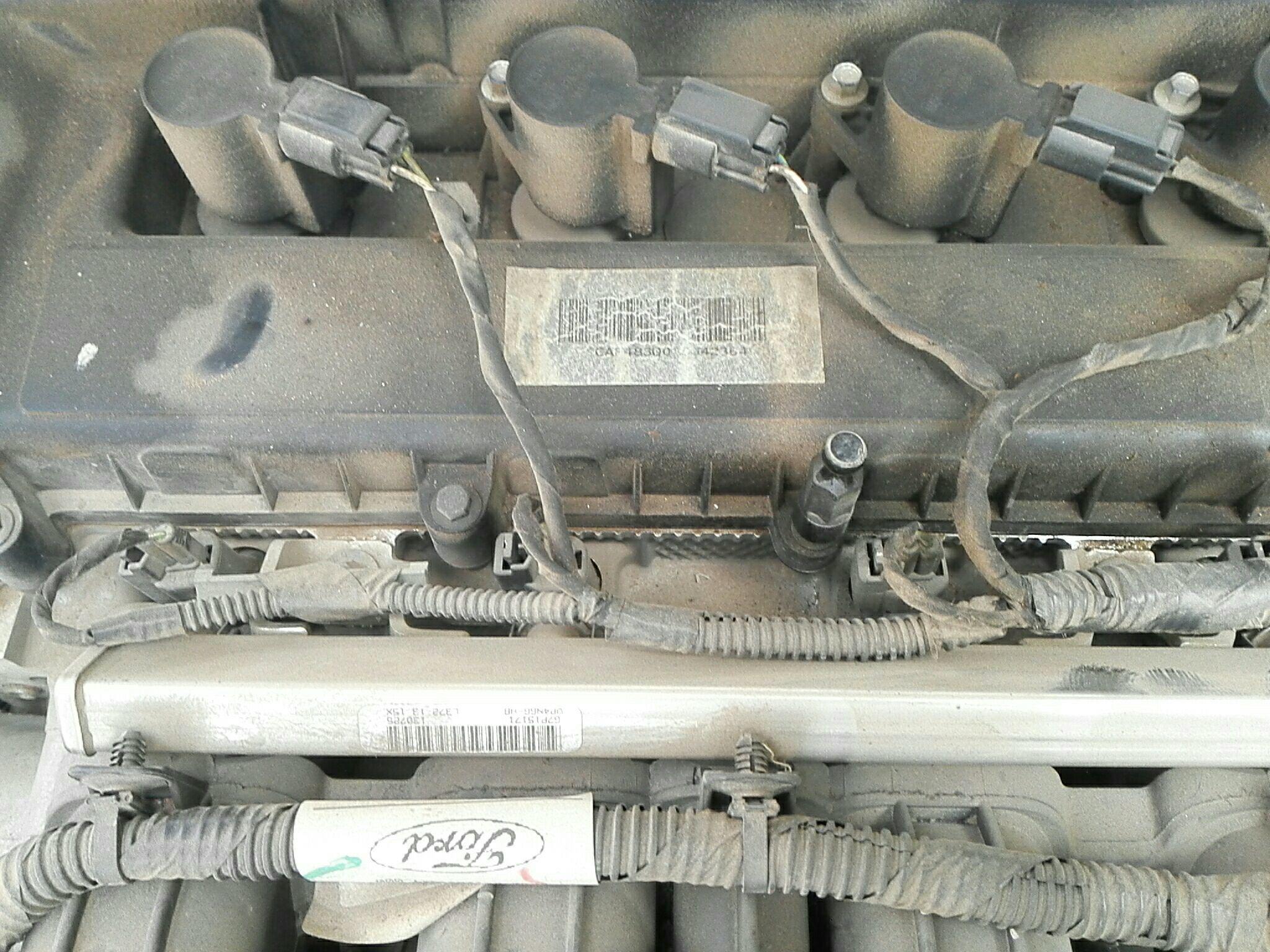福特空调皮带安装图解