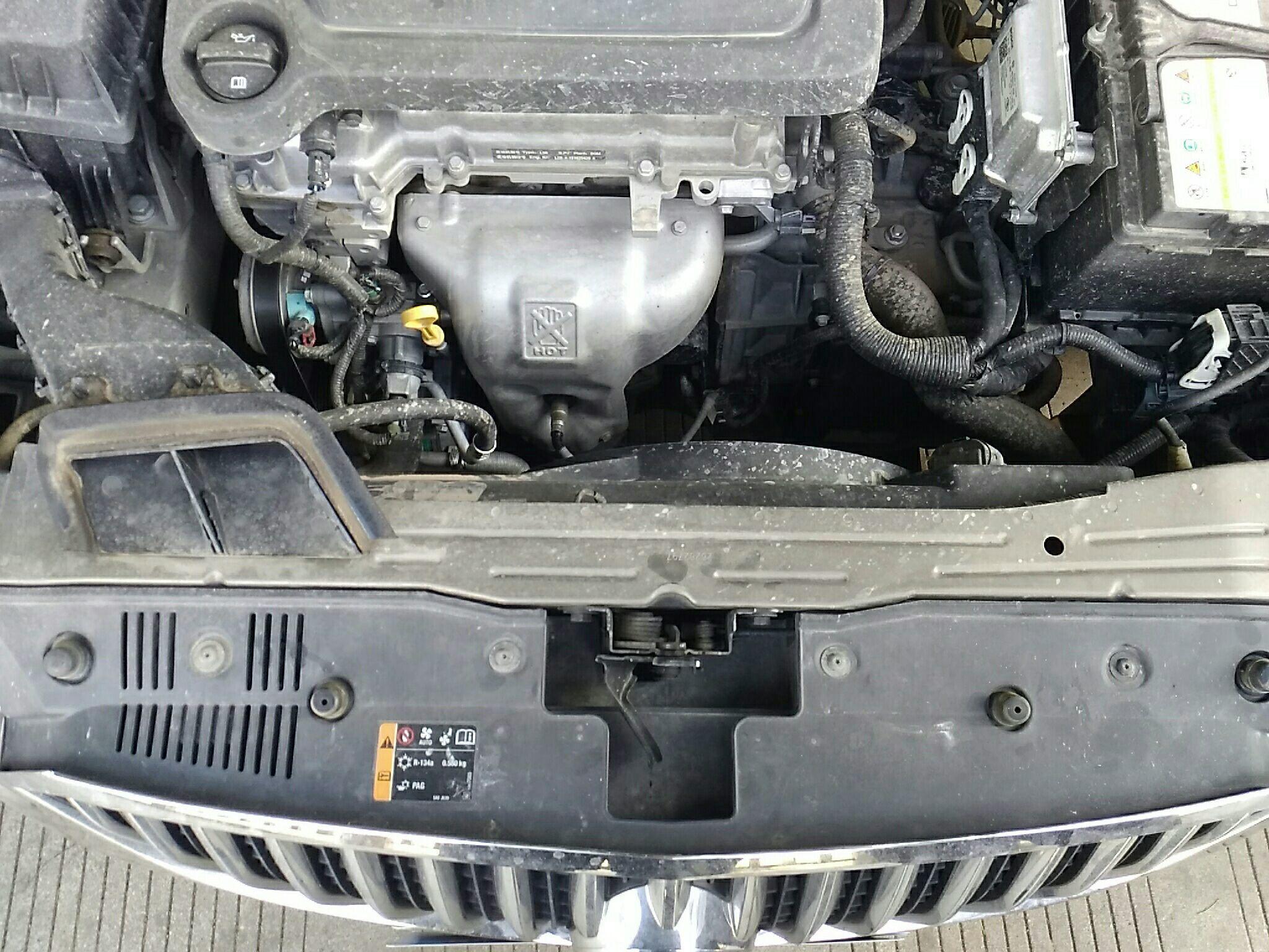 宁波二手别克英朗 > 别克英朗 2015  车头轻微的碰撞会导致水箱框架