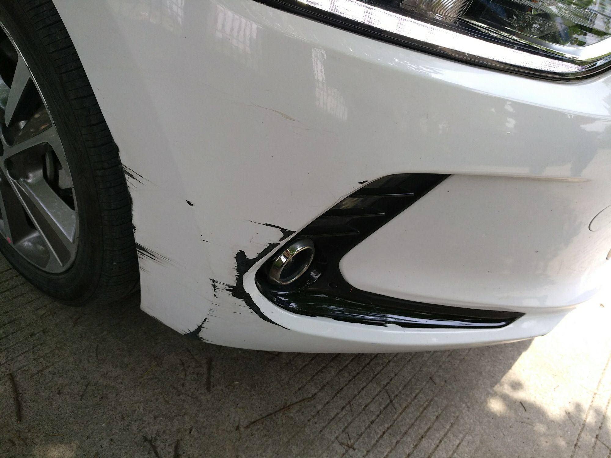 保险杠被撞开裂了 能修复吗 ? 朗动论坛 太平洋汽车网论坛