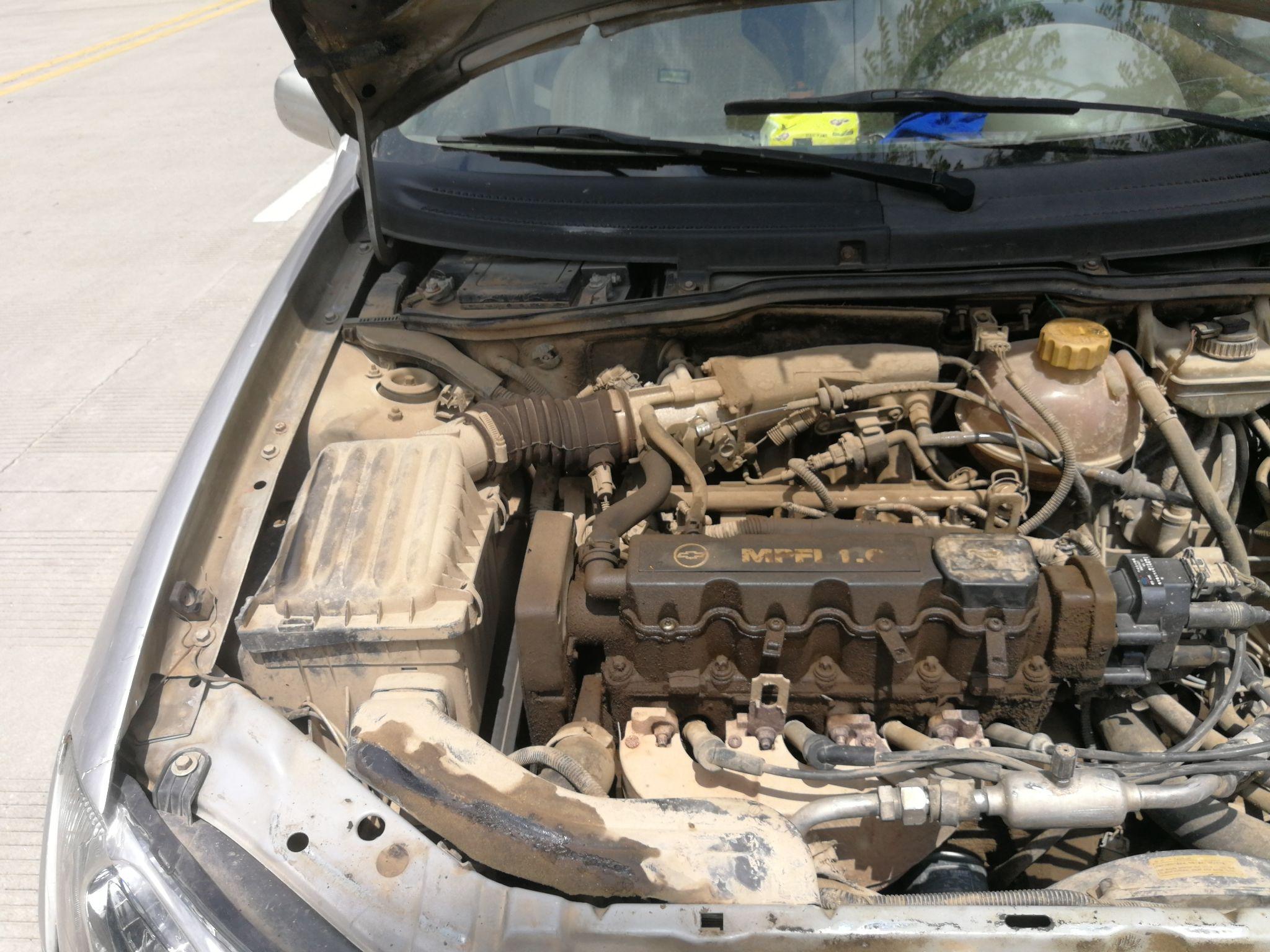 雪佛兰 赛欧 2005款 sedan 1.6 se mt